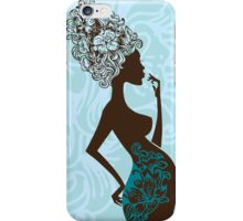 Beautiful pregnant woman #2 iPhone Case/Skin