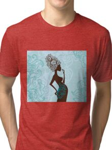 Beautiful pregnant woman #2 Tri-blend T-Shirt