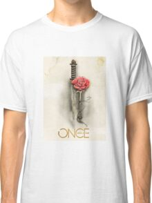 Once Upon a Time,  Dagger Rose, OUAT Classic T-Shirt