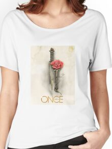 Once Upon a Time,  Dagger Rose, OUAT Women's Relaxed Fit T-Shirt