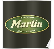 High Quality  Martin Acoustic Guitars Poster