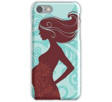 Beautiful pregnant woman #3 iPhone Case/Skin