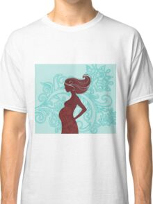 Beautiful pregnant woman #3 Classic T-Shirt