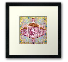 kentucky fried baroque  Framed Print