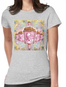 kentucky fried baroque  Womens Fitted T-Shirt