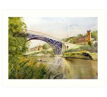 Ironbridge, Shropshire, England Art Print