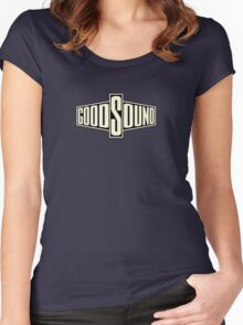 Vintage Good Sound Women's Fitted Scoop T-Shirt