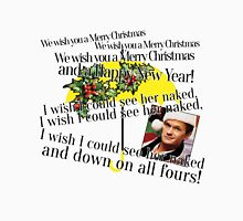 Merry Christmas by Barney Unisex T-Shirt