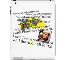 Merry Christmas by Barney iPad Case/Skin