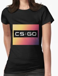 Counterstrike Fade Womens Fitted T-Shirt