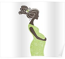 Beautiful pregnant woman #6 Poster