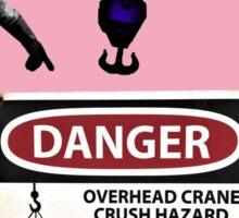 Crane Danger Zone Sticker