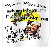 Jingle bells by Barney Poster