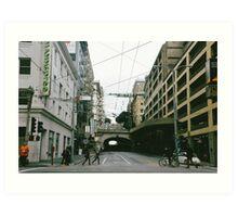 Street Tunnel Art Print