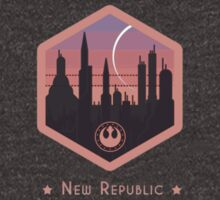 Coruscant - New Republic Emblem - Star Wars by TrendSpotter