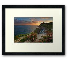 Lulworth Cove ... Framed Print