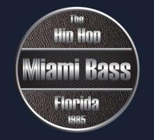 Hip Hop Miami Bass Florida 1985 Kids Tee