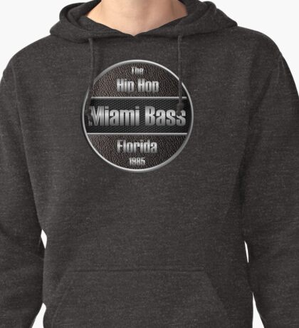 Hip Hop Miami Bass Florida 1985 Pullover Hoodie