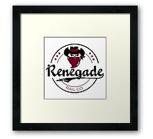 Renegade Rail Co. Framed Print