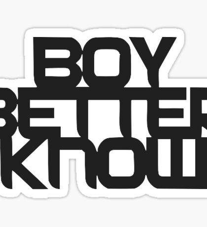 Boy Better Know BBK Sticker