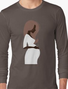 Beautiful pregnant woman #10 Long Sleeve T-Shirt
