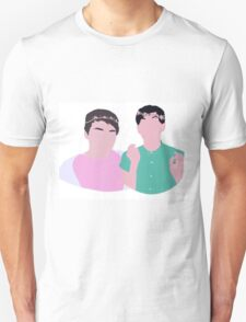 Cute Cartoon Dan And Phil T-Shirt