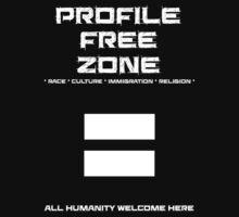 Profile Free Zone Baby Tee