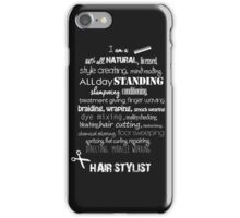 Hairstylist iPhone Case/Skin