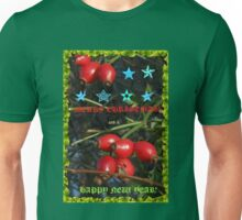 Christmas and New Year Card for RedBubble Unisex T-Shirt