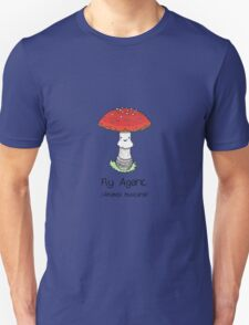 Fly Agaric (with smiley face) Unisex T-Shirt