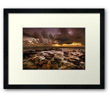 Kimmeridge Bay ... Framed Print