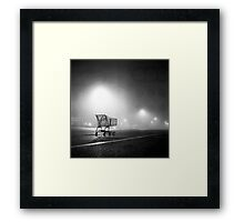 Shopping Cart Framed Print