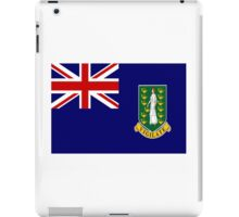 British Virgin Islands Flag iPad Case/Skin