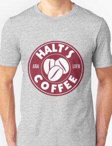 A Cup of Coffee and No One Gets Hurt Unisex T-Shirt