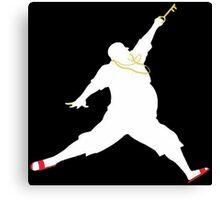 DJ Khaled -- The Key to Success -- Air Jordan Canvas Print
