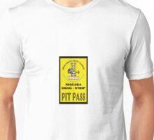 Niagara Drag Strip Pit Pass Unisex T-Shirt