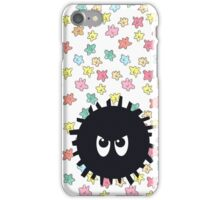 Angry Soot Sprite iPhone Case/Skin