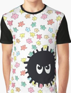 Angry Soot Sprite Graphic T-Shirt