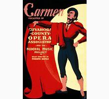 Vintage WPA Federal Music Project Opera Carmen Unisex T-Shirt