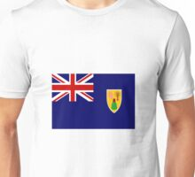 Turks And Caicos Flag Unisex T-Shirt
