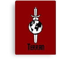 "Star Trek ""Terran"" T-Shirt Canvas Print"