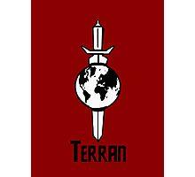 "Star Trek ""Terran"" T-Shirt Photographic Print"