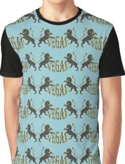 LIONS VEGAN Graphic T-Shirt
