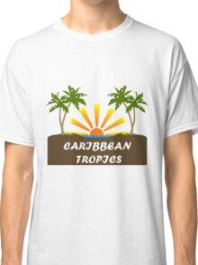 Caribbean Tropics  Classic T-Shirt