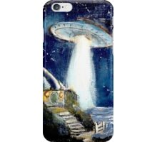 Ufo over the Shire.. iPhone Case/Skin