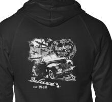 Vintage 40 Ford Zipped Hoodie