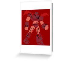 Big Hero Robot Greeting Card
