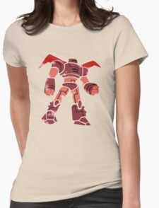 Big Hero Robot Womens Fitted T-Shirt