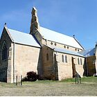 St Patricks Church, Colebrook, Tasmania by Margaret  Hyde