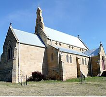 St Patricks Church, Colebrook, Tasmania by Margaret  Hyde